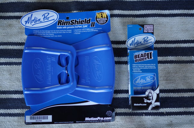 Motion Pro Rim Shield と BEAD BUDDY